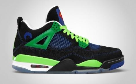 Release Reminder: Air Jordan Retro IV (4) Doernbecher