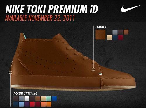 Release Reminder: Nike Toki iD