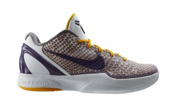 Release Reminder: Nike Zoom Kobe VI 'Lakers Home 3D'
