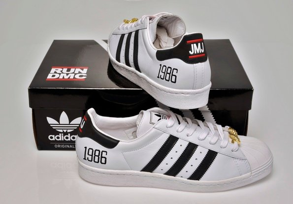 Release Reminder  Run DMC x adidas Originals My adidas 25th Anniversary  Superstar 80s 8e3d680d8