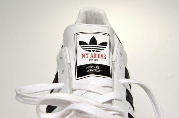 Release Reminder: Run DMC x adidas Originals My adidas 25th Anniversary Superstar 80s
