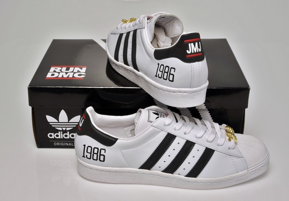 Run DMC x adidas Originals My adidas 25th Anniversary Superstar 80s - Updated Release Info