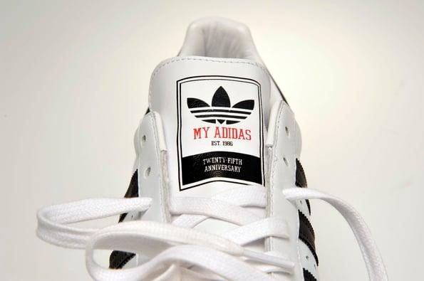 Run DMC x adidas Originals My adidas 25th Anniversary Superstar 80s - Updated Release Info