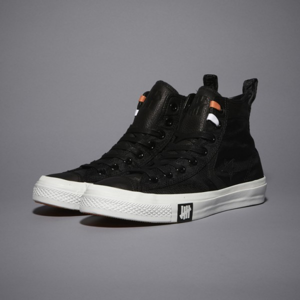 UNDFTD x Converse Black Ballistic Capsule Collection