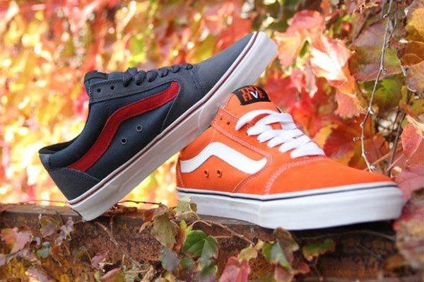Vans TNT 5 - Orange and Navy - Now Available