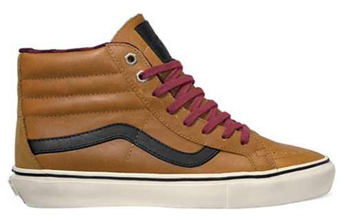 Vans Vault Leather Flannel Sk8-Hi LX