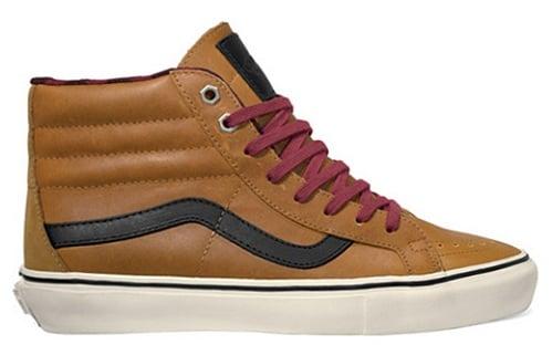 Vans Vault Leather Flannel Sk8-Hi LX