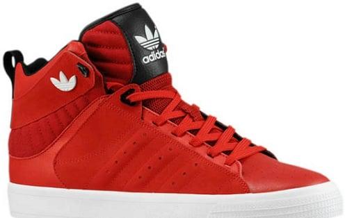 adidas Originals Freemont Mid - University Red/University Red-Black