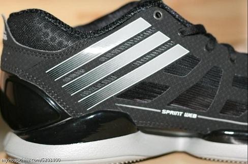 adidas adiZero Crazy Light Low - Black/Grey/White