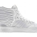 2NE1 x adidas Originals by Jeremy Scott JS Wings 2.0 – White/White | Now Available