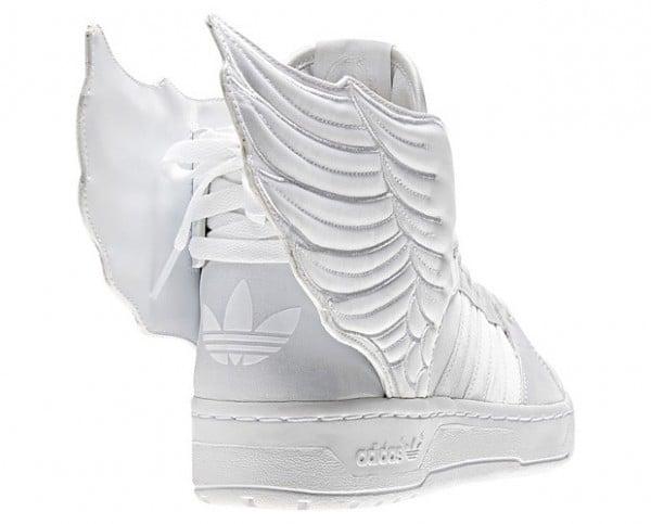 on sale 1ac2e 757b8 jeremy scott adidas wings white