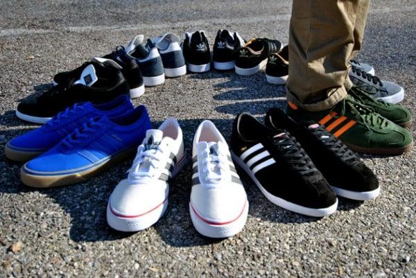 adidas busenitz vulc on feet