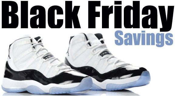 Black Friday Sneaker Savings 2011