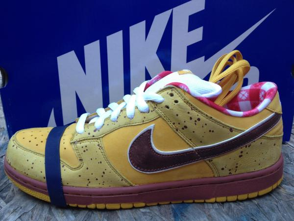 Brooklyn Projects Black Friday Giveaway Nike SB Dunk Low Yellow Lobster