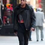 Celebrity Sneaker Watch: Jay-Z Takes a Stroll in Tribeca Wearing Air Jordan III (3) 'Black Cement'
