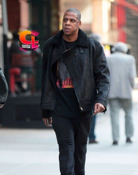 83add2dfdd44a8 Celebrity Sneaker Watch  Jay-Z Takes a Stroll in Tribeca Wearing Air ...