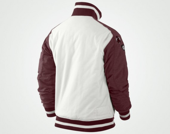 42aa4d5fb57dd6 Jordan 2014 Leather Letterman Jacket - Freshness Mag . Jordan Classic  Letterman  39 s Jacket