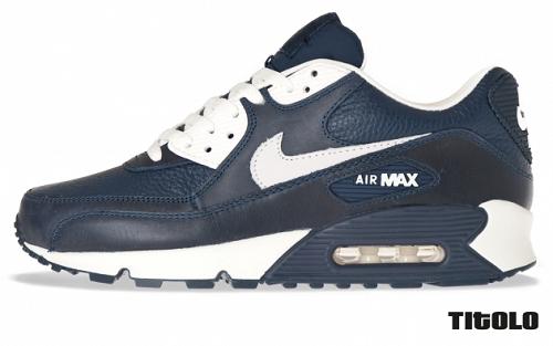 Nike Air Max 90 Premium - Obsidian/Sail