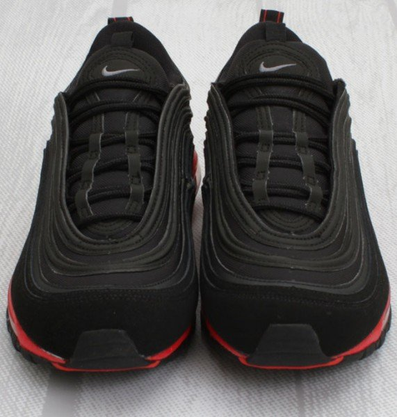 nike air max 97 black red
