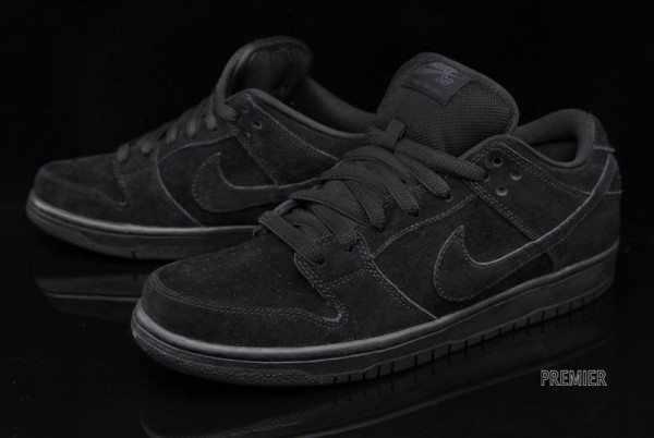 reputable site bd1c2 36ac1 nike sb dunk low pro all black
