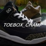 Air Jordan Retro 3 III Denim Khaki Sample Hit eBay