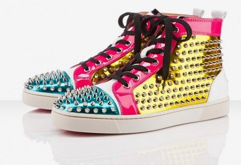"""Christian Louboutin Louis Spikes """"Multicolor"""" - Holiday 2011"""