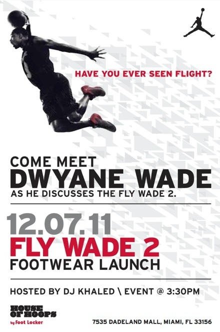 Fly Wade 2 Launch Event