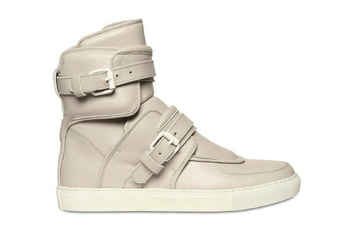 Givenchy Buckled Leather High-Top Sneakers