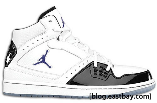 Jordan 1 Flight - White/Black-Concord