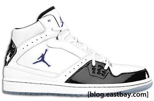 Jordan 1 Flight - White/Black-Concord
