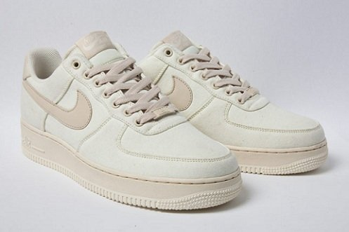 nike air force 1 canvas cashmere