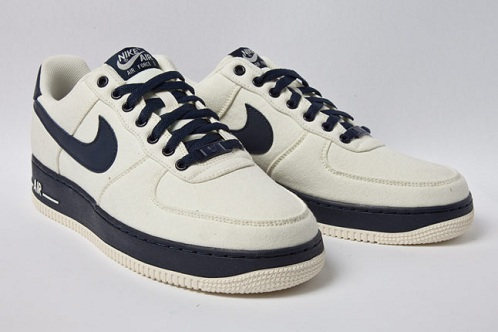 Nike Air Force 1 Low Canvas - Cashmere/Obsidian