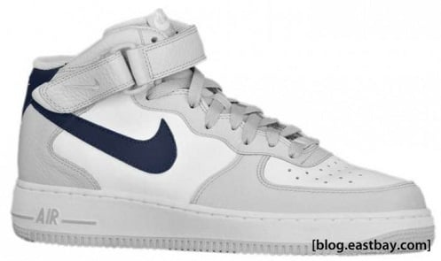 Nike Air Force 1 Mid - Neutral Grey/White-Obsidian
