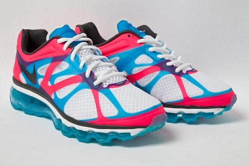 Nike Air Max+ 2012 - Pink/Blue