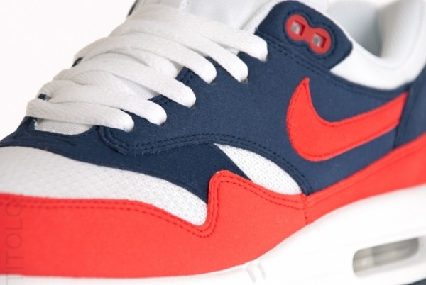 Nike Air Max 1 - Navy/Action Red - White - Now Available