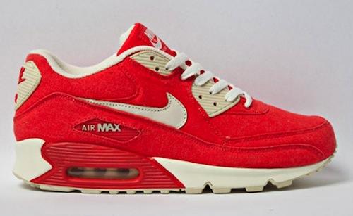 Nike Air Max 90 - Red Canvas