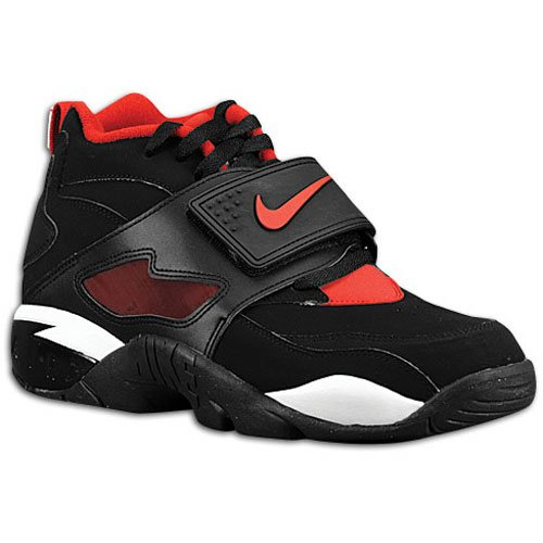 Nike Air Max Diamond Turf - Black/Varsity Red-White - Now Available