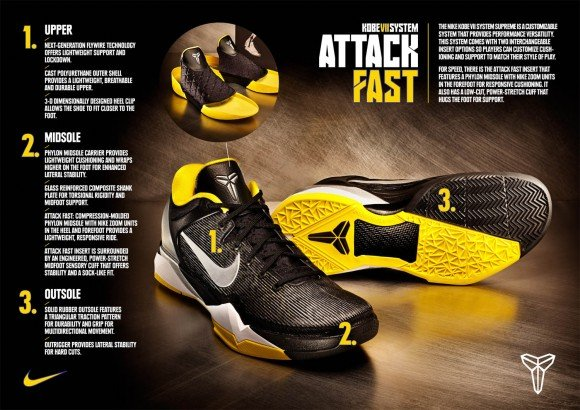 Nike Kobe VII (7) System Supreme Unveiled