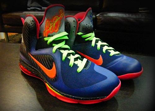 """Nike LeBron 9 """"Nerf"""" (Custom)"""