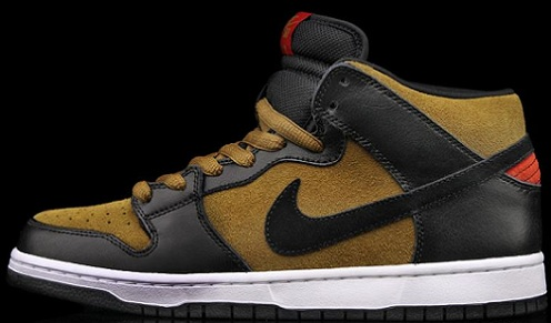 "Nike SB Dunk Mid ""Golden Hops"""