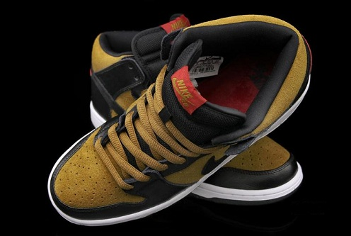 "Nike SB Dunk Mid ""Golden Hops"""