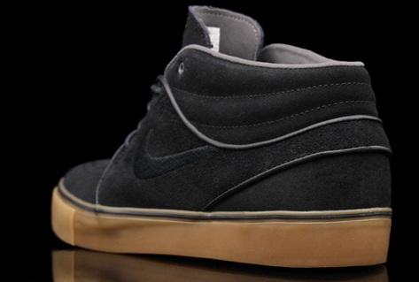 Nike SB Zoom Stefan Janoski Mid - Black/Gum