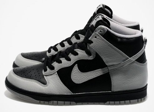 Nike Sportswear Dunk High - Black/Medium Grey