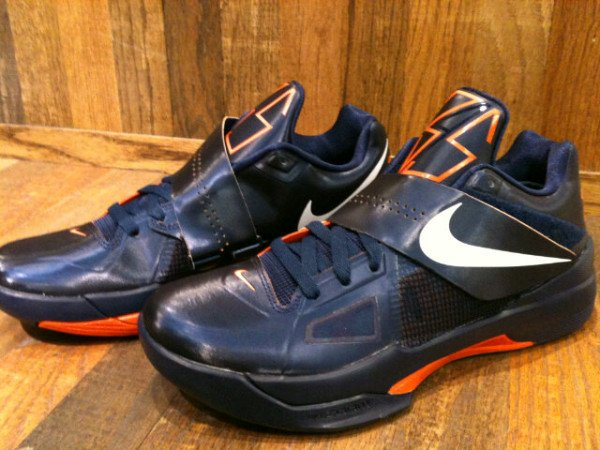 Nike Zoom KD IV - Navy/Orange - First Look