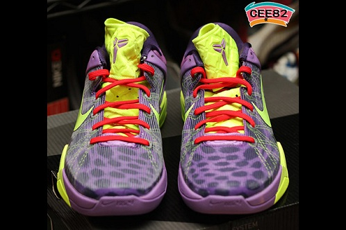 "Nike Zoom Kobe VII (7) ""Christmas Day/Cheetah"" - New Images"