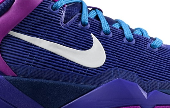 Nike Zoom Kobe VII (7) GS Deep Royal Blue/Metallic Summit White-Magenta