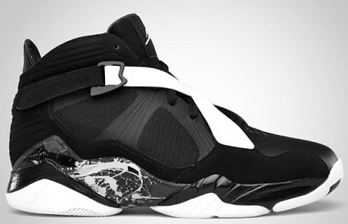 Release Reminder: Air Jordan 8.0 Black/Dark Charcoal-White