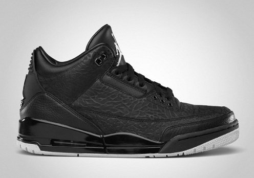 "Release Reminder: Air Jordan Retro III (3) ""Black Flip"""