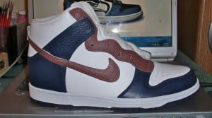 Seattle Seahawks Nike Dunk High by Proof Culture