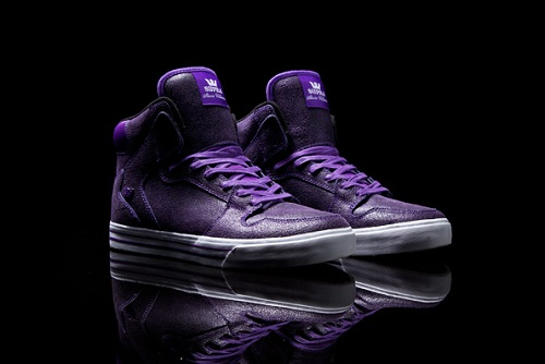 Supra Stevie Williams Signature Vaider - Purple